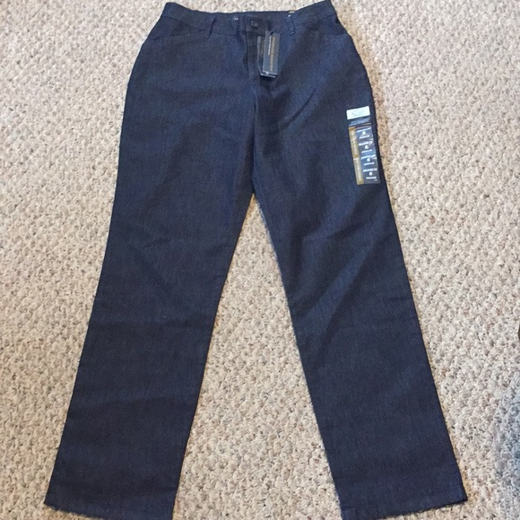 Lee Relaxed Fit Straight Leg Pants Size 8